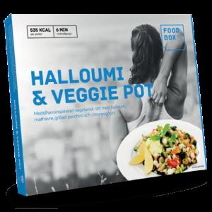 Foodbox Halloumi and Veggie Pot
