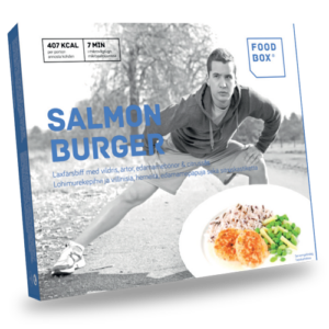 Foodbox Salmon Burger